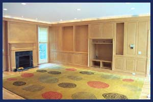 Interior Cabinet Refinishing Project in Winnetka 60093